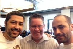 Rafa, Jeffrey Skouson e Wagner Barbosa – IVACON 2014 – Los Angeles