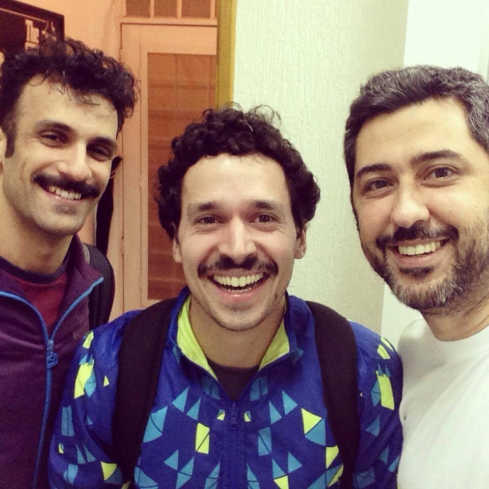 Fabrício Licursi, Gera Rodrigues e Rafa – 2014 no EVRB