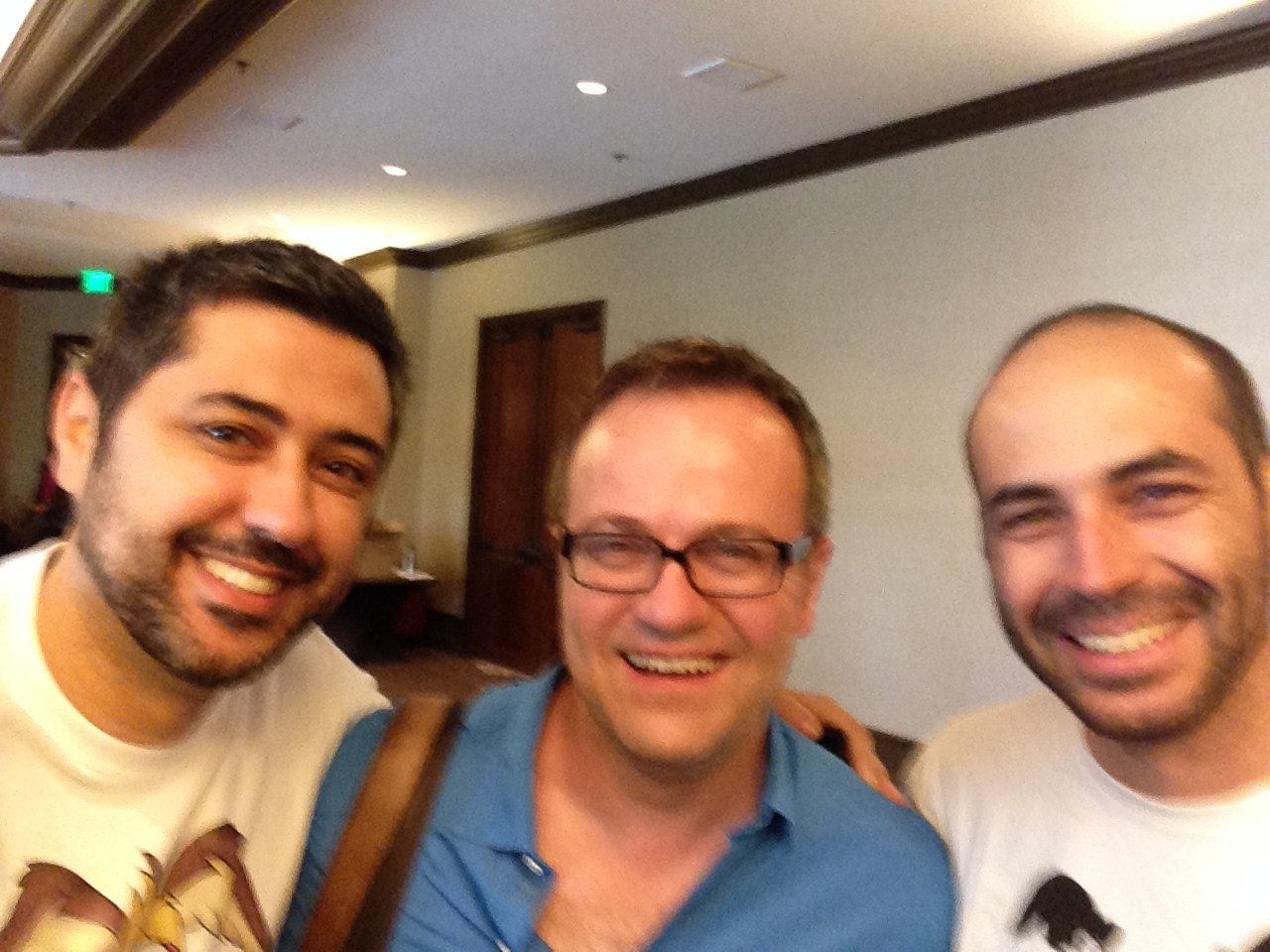 Rafa, Spencer Welch e Wagner Barbosa – IVACON 2014 – Los Angeles