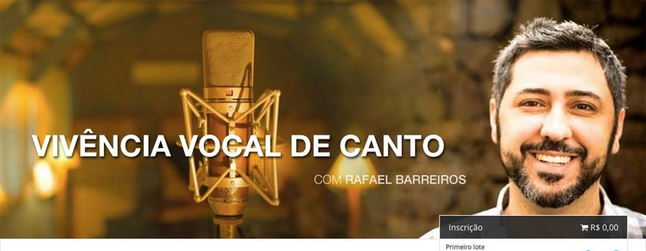 Workshop prático de Canto