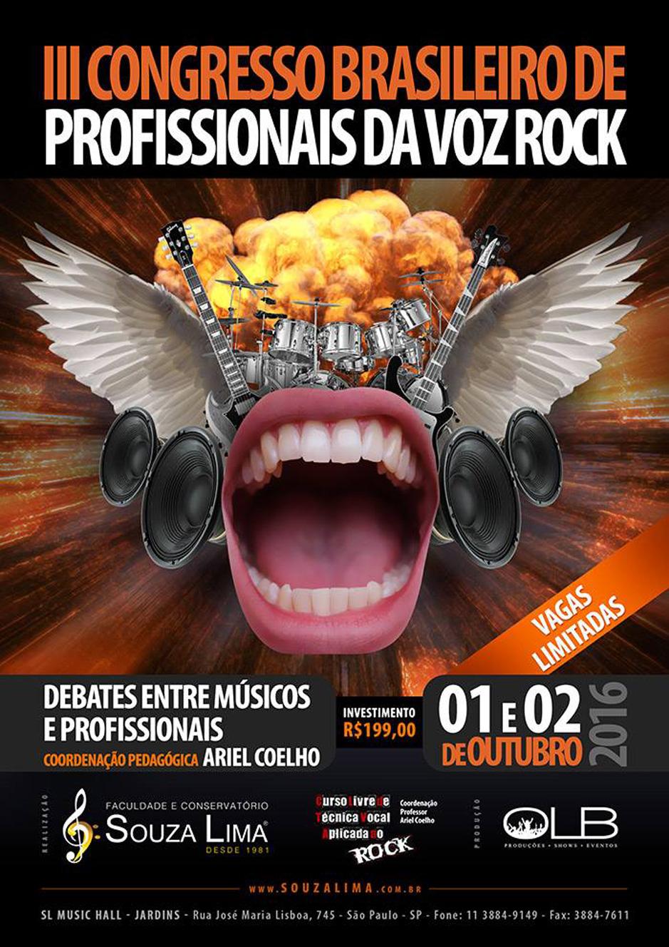 III Congresso Brasileiro de Profissionais da Voz Rock